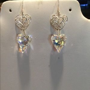 Beautiful Swarovski earrings